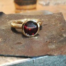 Ring Gold 750 mit Rubin